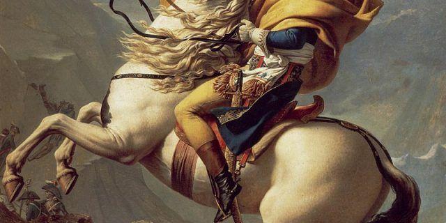 Napoleon Bonaparte und der Champagner